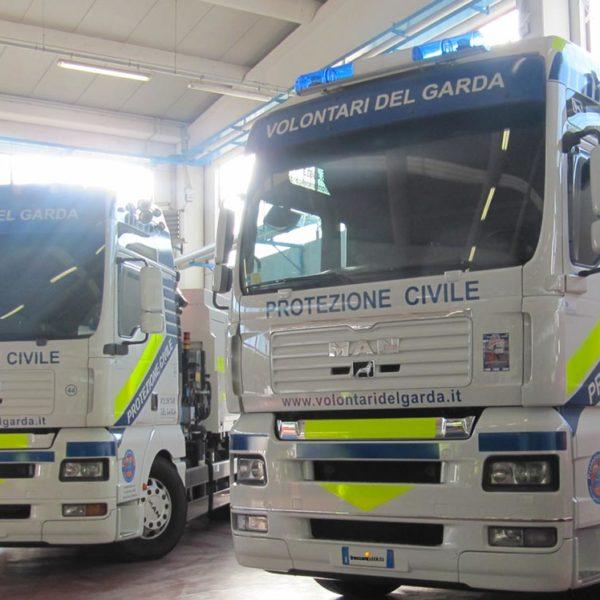 Decorazione Mezzi di Soccorso e Polizia a Brescia, Treccani Pubblicità