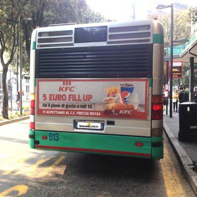 Decorazione Bus e Camion a Brescia, Treccani Pubblicità