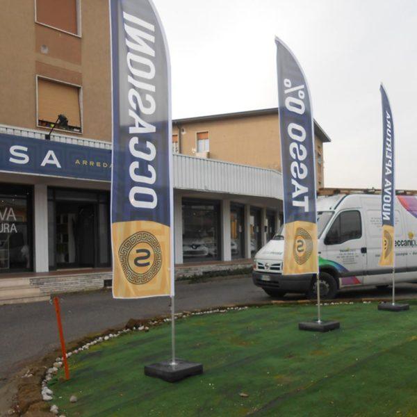 Tende e Bandiere Brescia, Treccani Pubblicità