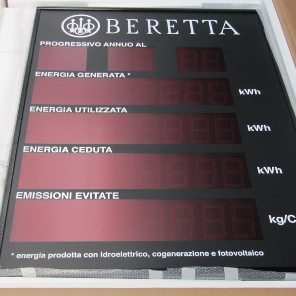 display luminosi a led Brescia, Treccani Pubblicità
