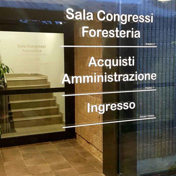 Scritte Prespaziate Brescia, Treccani Pubblicità