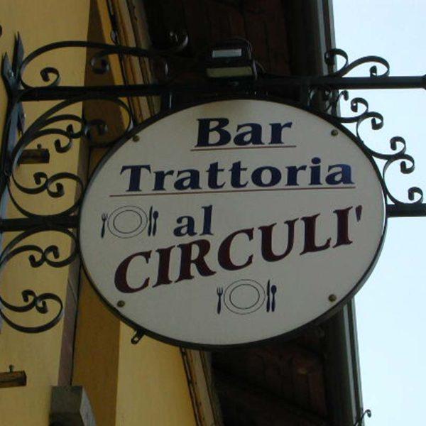 antiche insegne a Brescia, Treccani Pubblicità