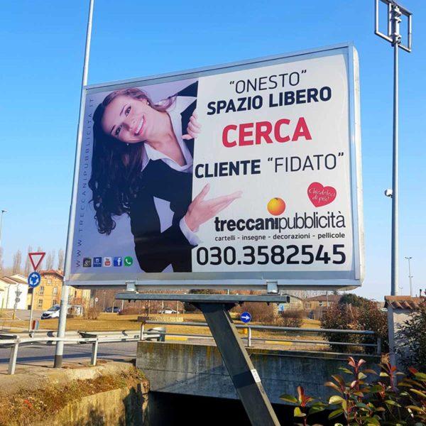 Cartelli Stradali Brescia, Treccani Pubblicità