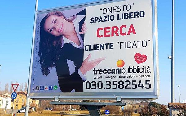 Cartellonistica Stradale Brescia, Treccani Pubblicità