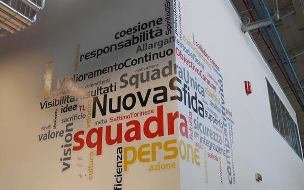 Vetrofanie e Scritte Adesive Brescia, Treccani Pubblicità