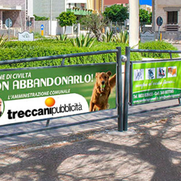 Parapedonali e Pensiline Brescia, Treccani Pubblicità